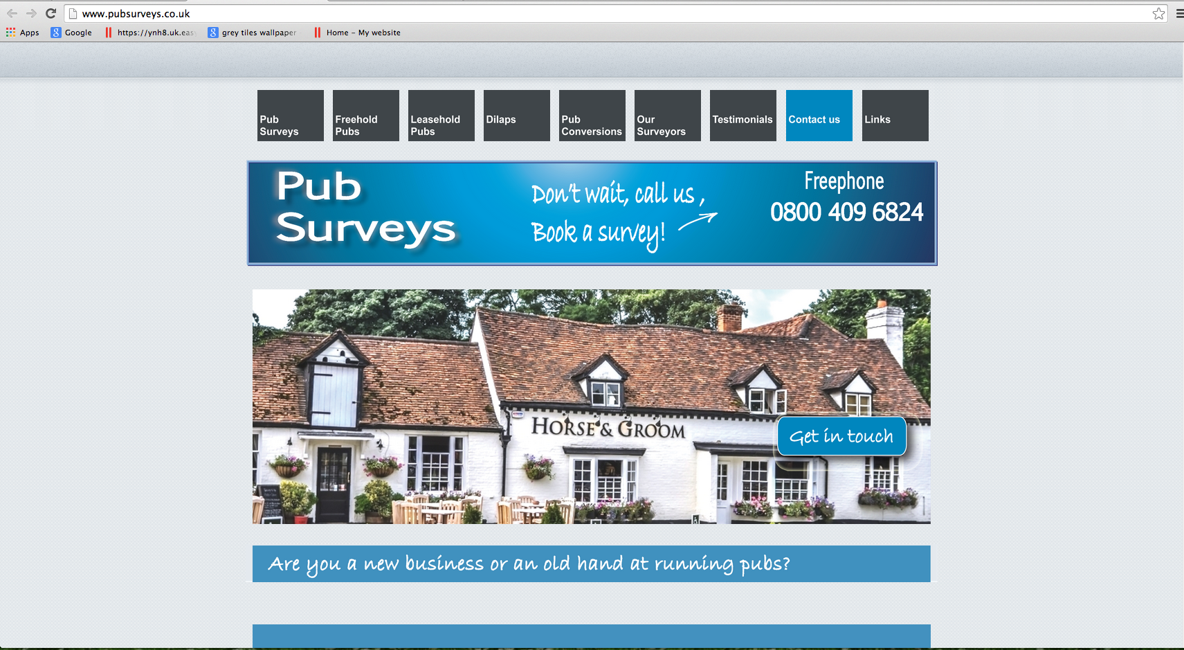 Pub Surveys